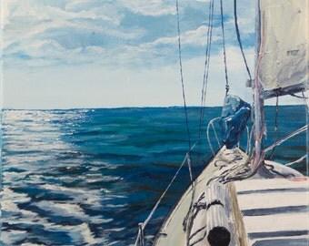 Sailboat (the Georgia Lee)