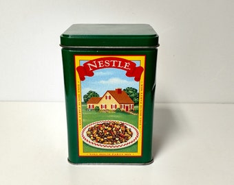 Nestle Toll House Cookie Tin Can