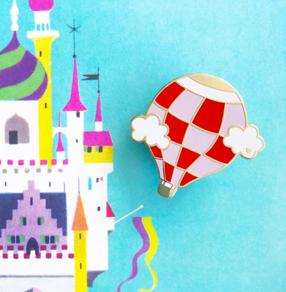 Hot Air Balloon Pin- Cute Enamel Pin-Cloisonne Lapel Pin