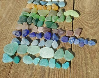 Sea glass Jewellery making, Blue sea glass, Teal/dark teal/black/green/purple/opalescent/aqua/yellow/lilac/light blue, dark blue sea glass