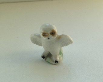 Wade Whimsie Snowy Owl -North American Animals (1958-61)