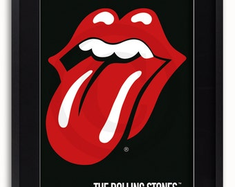The Rolling Stones Tongue Poster