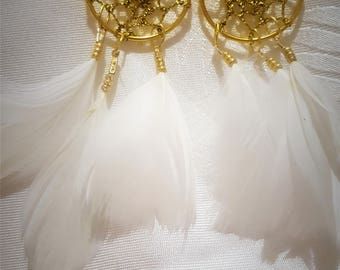 dream-catcher earrings