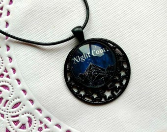 Night Court Starry Pendant Necklace, ACOMAF, ACOTAR, ACOWAR, Velaris, night court, night court necklace, Rhysand, Feyre