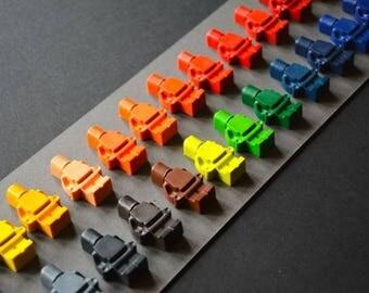 28 wax malkreiden   LEGO inspired