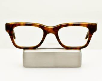 "VTG Rare 60s Demi Amber NALCO 44 Eyeglass Frames USA ""A Single Man"" Colin Firth"