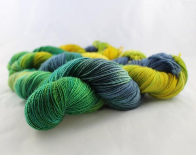 Octopus Garden - Fingering Weight - Sock Yarn - Hazel Base - 75/25 Merino Nylon - 462 Yards/100 Grams