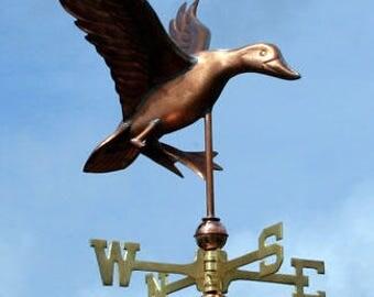 Copper Duck Weathervane - BH-WS-105
