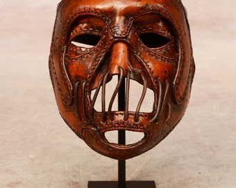 Hannibal leather mask