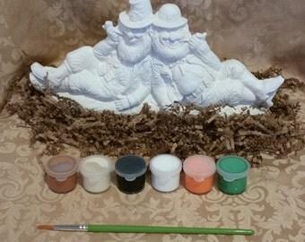 Lounging Leprechauns Painting Kit
