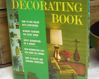 Vintage better homes and gardens mcm decorating book 1968 how - Better homes and gardens cookbook 1968 ...