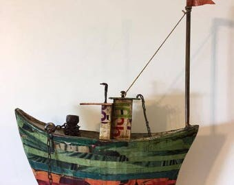 Load boat