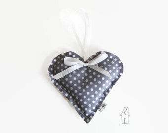 Lavender Sachet, Lavender Bag, Hanging Heart, Lavender Heart, Home Decor, Bedroom Decor, Home Fragrance, Draw Fragrance, Old Flour House