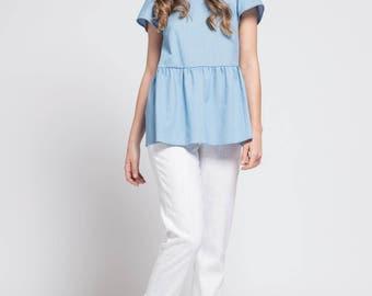 Basque woman blouse