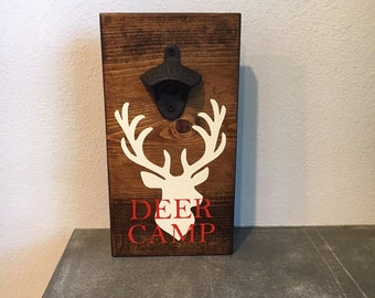Deer Camp bottle opener