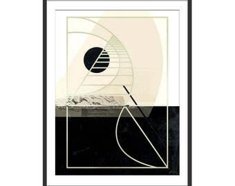 Abstract Print. Art Deco Print. Abstract Art. Wall Art. Wall Decor.