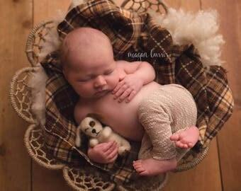 Felted Puppy, Newborn Photography Prop, Newborn Girl, Newborn Boy
