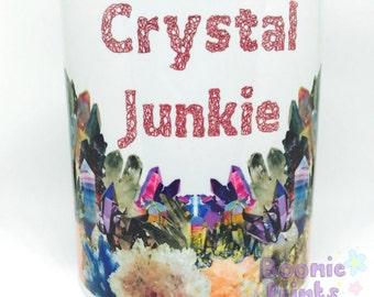 Crystal Junkie 11oz Ceramic Mug