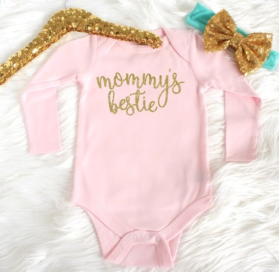 Baby shower gift - Best newborn outfit - Best hospital outfits - Sparkle baby shirt - Etsybaby Best baby shower gifts for baby girl