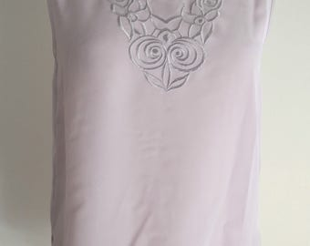 Vintage Lilac Sleeveless top