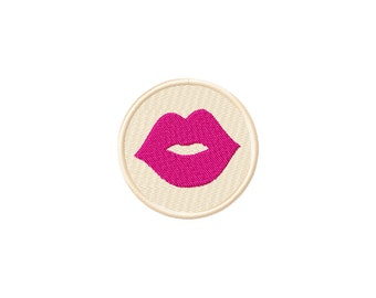 Pes, lips embroidery design, kiss embroidery design, valentines day embroidery, frame embroidery design, pes embroidery design