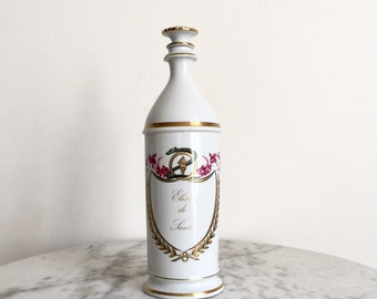Antique French Apothecary Jar, an Exquisite and Rare Large Pharmaceutical or Chemist bottle from Limoges, 19th Century