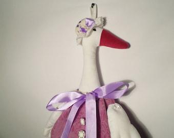 Ester The Goose, Grocery Bag Holder, Plastic Bag Holder, Grocery Bag Storage, Housewarming Gift, Goose, Plastic bag storage