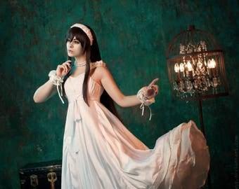 Vampire Knight Yuki Kuran Cosplay Costume Ballroom Gown Cross White Dress Suit  Custom Anime Manga Made Japanese Costume