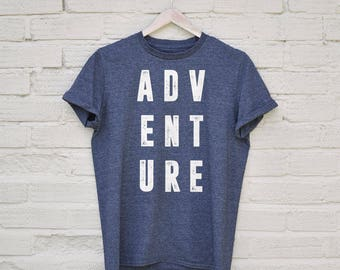 Adventure T Shirt - travel tshirt, vacation tshirt, holidays shirt, traveller t shirt, travelling shirt, funny traveller shirt
