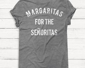 Margaritas - Alcohol - Alcohol shirt - Women's Graphic Shirt - Vacation - Humor - Alcohol - Wine - Vodka - Tequila