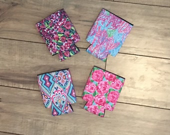 Lilly Pulitzer Can Chiller with Monogram