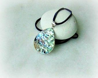 Abalone pendant, paua shell pendant, paua shell necklace, paua shell jewelry, paua shell, flat abalone, paua, abalone, abalone necklace