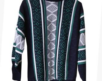 Aztec Pattern Vintage Sweater
