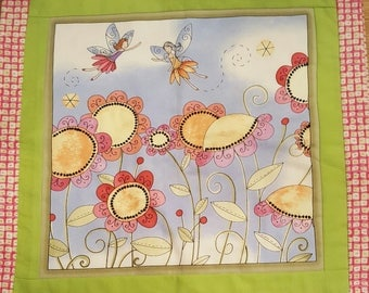 Fairy and Flower Girls Pillow