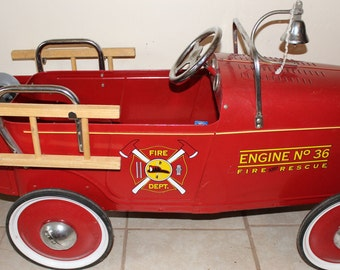 Sale price*  1932 Ford Fire Engine Pedal Car No 36