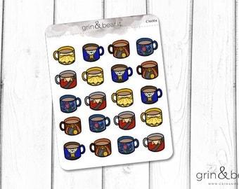 Beauty and the Beast Mug Series Stickers (CM004)