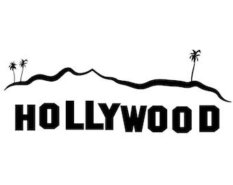 Hollywood Sign Clip Art