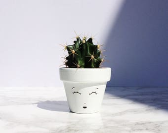 Monochrome Pflanzer, Weihnachts-Strumpf, Weihnachtsgeschenk, saftiges Pflanzgefäß, Home Decor, Mini Blumentopf Kaktus Topf, Housewarming