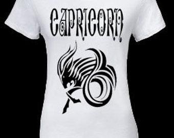 Capricorn womens Tee