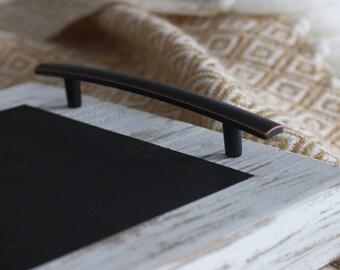 Wooden Chalkboard Serving Tray