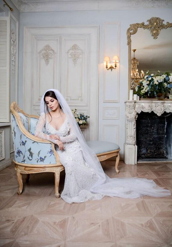 Chapel Wedding Veil Bridal Length