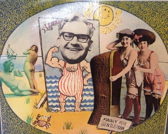 "Ronnie Barker's Book of Bathing Beauties - 1974 - Cheeky & ""Mainly for Gentlemen""."
