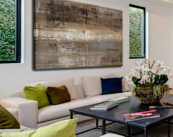 Canvas Painting, Abstract Painting, Large Abstract Art, Painting On Canvas, Contemporary Art, Acrylic Painting, Large Artwork, Palette Knife