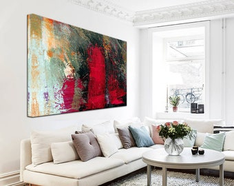 Colorful Painting Art, Colorful Large Art, Acrylic painting, Home decor, Colorful Art, Textured Painting, Acrylic paint, Handwriting art