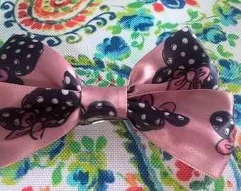 Disney Minnie Mouse Bow on Barrette