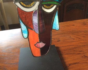 Morty-Abstract Glass Face