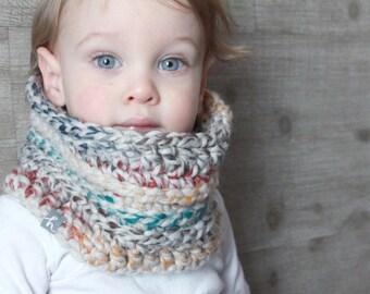 Hermes Crochet Cowl - Toddler Scarf