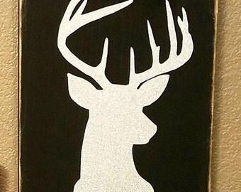 Buck Silhouette Wall Decor