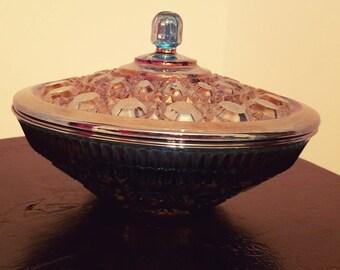 Indiana Glass Windsor Pedestal Candy Dish