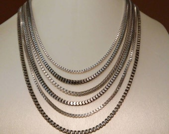Ruby Rd. Silver Necklace